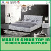 현대 가정 가구 가죽 침실 2인용 침대