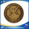 Moneta antica su ordinazione del metallo con la decalcomania di stampa per la promozione (Ele-C024)