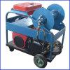 Máquina de alta presión de la limpieza del tubo de dren del jet de agua del arenador