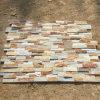 Panneaux muraux en pierre empilés en grès naturel (SMC-SCP429)