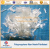 Цемент усиливая Fibrillated волокно сетки PP волокон полипропилена