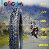 Pattern popular Motorcycle Tyre para Nigeria Market (3.00-17, 3.00-18, 2.50-17)