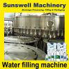 Maquinaria de enchimento da água mineral do frasco do animal de estimação/máquinas de embalagem puras da água