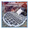 Super Soft раунда Метелками Mandala пляжные полотенца