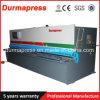 Máquina de corte QC12y 8X3200 do balanço hidráulico para o uso da máquina de estaca