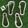 Gancho de resorte del acero inoxidable complemento para el aparejo de cadena