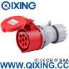 IP44 16A 7pole Waterproof Industry Coupler (QX746)