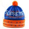 普及したジャカードは縞で飾ったアクリルの袖口のPOMによって編まれた帽子(TMK0189)を