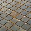 De milieuvriendelijke Materiële Zwarte Tegels van het Mozaïek van het Glas van Badkamerss Vierkante