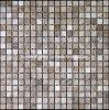 Azulejo de mosaico de mármol ligero de Emperador Brown (HSM126)