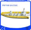 Bateau en fibre de verre Sxv750c nervure PRF Bateau (CE)
