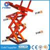 يقصّ شحن هيدروليّة كهربائيّة مصعد مع [ق235] فولاذ مادة