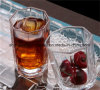 Taza caliente del masón de la bebida del tarro del cristal de botellas de vidrio del tarro de masón de la muestra libre de la venta
