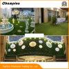 中国の供給の試供品の庭のための総合的な草の壁の人工的な草、20mmの性質の装飾的な景色のホーム人工的な草