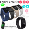 De nieuwe Armband van het Silicone van de Armband van de Geschiktheid van het Ontwerp Slimme voor Gift A09