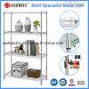 Регулируемый шкаф Shelving провода крома мебели металла для дома