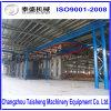 Proteção de ambiente de suspensão Descaling da máquina da explosão de tiro da carga do girador