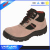 Suede Leather Women Warm Work Safety Shoes
