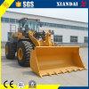 Maquinaria de construcción pesada cargador de la rueda de 5 toneladas