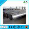 Grande tubo d'acciaio saldato di spirale del carbonio del diametro esterno