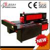 Maquinaria de papel del laser del corte de la madera contrachapada del corte