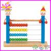 Giocattolo di conteggio di legno di buona qualità 2015, per la matematica di legno di vendita calda che conta giocattolo, abbaco educativo del pagliaccio di colore del giocattolo che conta giocattolo W12A004