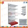 Mensola personalizzata della scaffalatura della visualizzazione di parete del ferro di ipermercato del supermercato (Zhs571)
