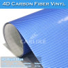 Fácil instalar la fábrica del abrigo del coche de la película de la fibra del carbón 4D