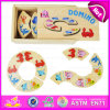 2015 Wooden educativo Domino Block Toy per Kids, Funny Play Wooden Toy Domino, particelle elementari W15A011A di Best Seller Jenga Domino