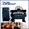 4 CNC van de as Machine, de Vlakke Machine van de Gravure