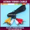 3RCA-3RCA Cable (Audio en videokabel) voor TV en STB