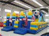 Sell caldo Funny Inflatable Obstacle Castle per Amusement