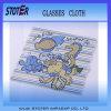 Pano de limpeza Keychain da lente dos vidros de Microfiber, panos de limpeza personalizados de Microfiber