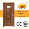 Glace de garniture intérieure des prix de porte de PVC de salle de bains (SC-P020)