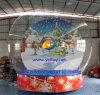 عمليّة بيع حارّ قابل للنفخ ثلج كرة أرضيّة