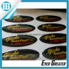Het aangepaste Etiket van de Koepel, de Zachte Overkoepelde Sticker van de Bel Sticker, de Aangepaste Sticker van de Koepel van de Douane van de Stickers van de Hars van Pu 3D
