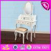Diseños de madera de la tabla de preparación de la alta calidad para el dormitorio W08h015