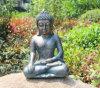 Het Standbeeld van Boedha van de Kleur van het Brons van de Decoratie van de Tuin van het huis