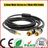 Smartphone 3.5mm Male Stereo aan 2 Male RCA Cable