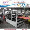 PVC reciclado ASA de UPVC esmaltado cubriendo la hoja que hace la máquina