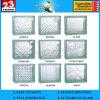 Blok/Baksteen de het van uitstekende kwaliteit van het Glas van 190*190*80mm voor de Zaal van de Douche