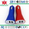 Doppel-Ports USB-Mikroselbstauto-Aufladeeinheit