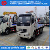 Caminhão Flatbed da remoção do bloco de estrada do caminhão de Wrecker do reboque de LHD 4X2