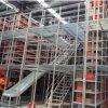 Mezanino de serviço pesado de paletes com escadas