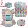 Cloth-Like Baby Diaper avec ceinture élastique de la magie des bandes