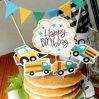 Baby douche gâteau d'anniversaire de la décolleteuse parti d'enfants Les enfants de fournitures