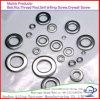 6*12*1mm korrosionsbeständige flache Aluminiumunterlegscheibe