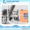 Machine semi automatique de soufflage de corps creux de bouteille d'animal familier et matériel de soufflement
