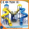 Летом пластиковые детская площадка водные горки (WK-W180313)