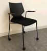 Standard ANSI/BIFMA Stackable Plastic Office Flesh